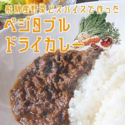 飛騨産野菜 とスパイスで作った ベジタブルドライカレー 100g ミールキット レンチン  (ポスト投函-2)