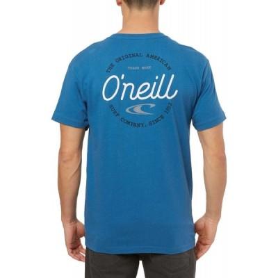 【残り1点!】【サイズ:M】オニール O'Neill メンズ トップス Tシャツ Lowdowns T-Shirt Dark Blue