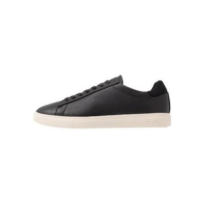 クレー メンズ 靴 シューズ BRADLEY - Trainers - black