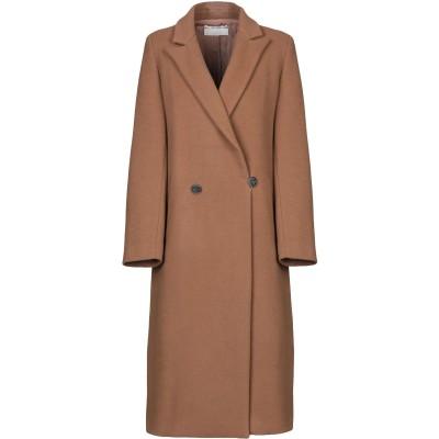 POMANDÈRE コート キャメル 40 バージンウール 75% / ナイロン 25% コート