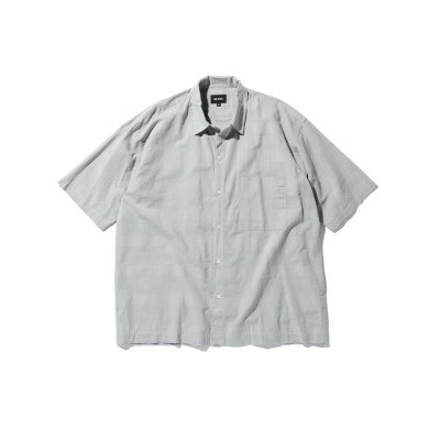 【ビームス アウトレット】 BEAMS / シャドー チェック ミニレギュラー シャツ メンズ SAX L BEAMS OUTLET