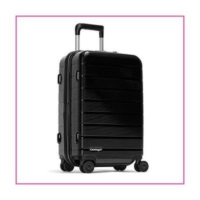 eBags Fortis Pro 22 Inches USB Carry-On Spinner (Black)並行輸入品