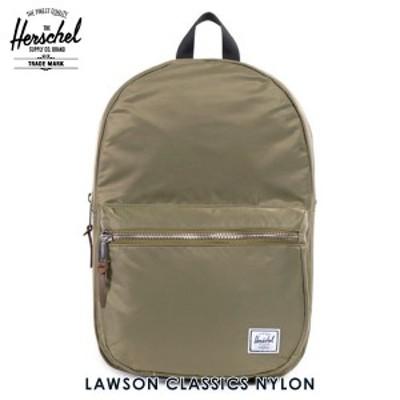 ハーシェル バッグ 正規販売店 Herschel Supply ハーシェルサプライ バッグ Lawson Classics - Nylon 10179-00589-OS Fern D15S25