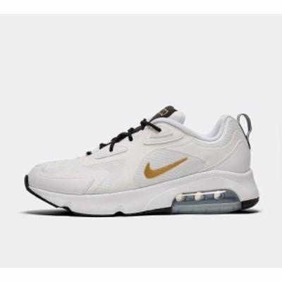ナイキ Nike メンズ スニーカー シューズ・靴 air max 200 trainer White/Metallic Gold/Black