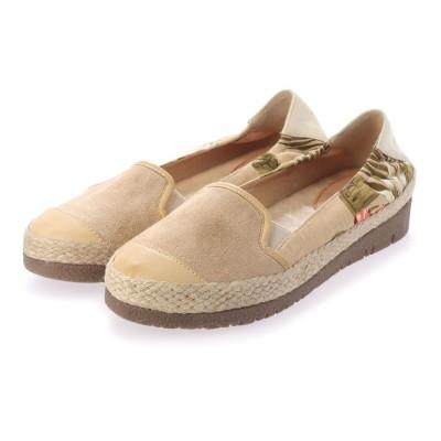 シューズラウンジ アウトレット shoes lounge OUTLET フラットシューズ 89ARL61034BEG-S (ベージュ)