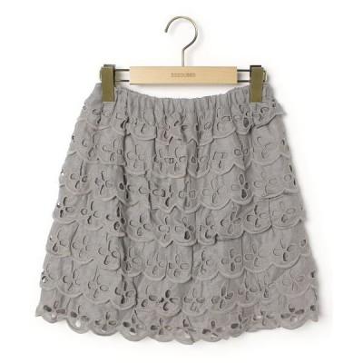スカート 総柄スカート