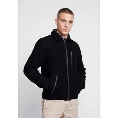 ブレンド メンズ ジャケット&ブルゾン アウター Light jacket - black black