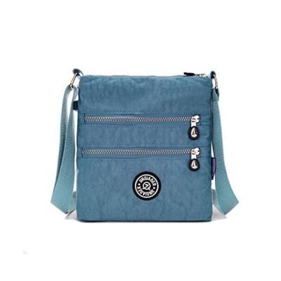 Nylon Crossbody Purse Multi-Pocket Travel Shoulder Bag並行輸入品 送料無料