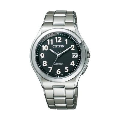 [シチズン]CITIZEN 腕時計 ATTESA アテッサ Eco-Drive 電波時計 Perfex搭載 オールアラビア スタンダードモデル ATD53-2846 メンズ