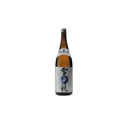 秋田 日本酒 秋田誉 純米酒 雪灯籠 1800ml