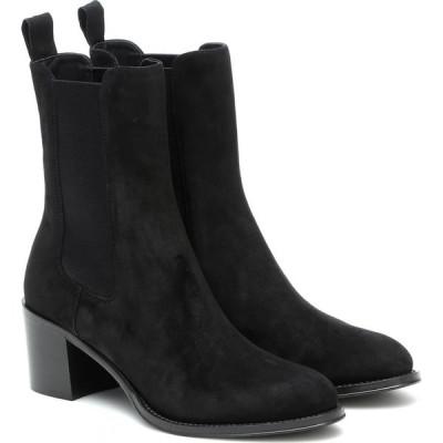 チャーチ Church's レディース ブーツ ショートブーツ シューズ・靴 Eloise 55 Suede Ankle Boots Black