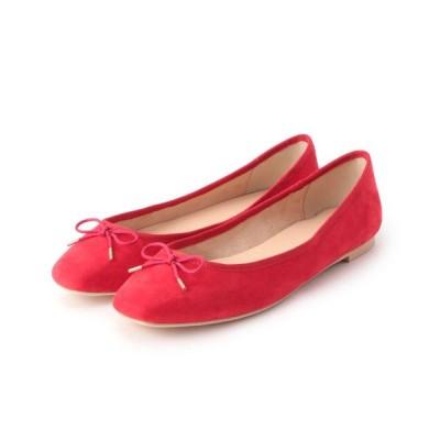 Couture Brooch/クチュールブローチ スクエアトゥバレエシューズ レッド(062) 45(24.5cm)
