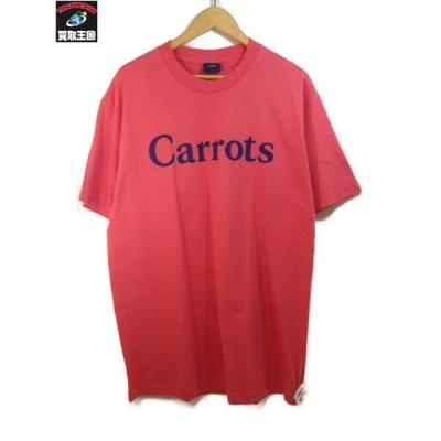 CARROTS S/S LOGO TEE (L) PNK[▼]