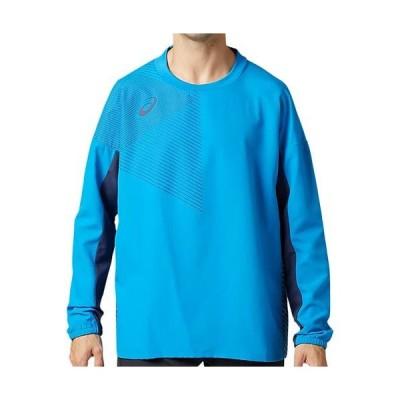 アシックス(asics) メンズ レディース サッカー クロストップ ディレクトワールブルー 2101A069 401 長袖 Tシャツ トップス トレーニング スポーツウェア