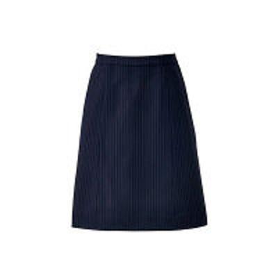 ボンマックスボンマックス BONOFFICE Aラインスカート ネイビー×ブルー 17号 AS2300-28 1着(直送品)