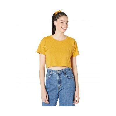 Splendid スプレンデッド レディース 女性用 ファッション Tシャツ Sundown by Splendid Kiki Tee in Painted Heather Jersey - Tumeric