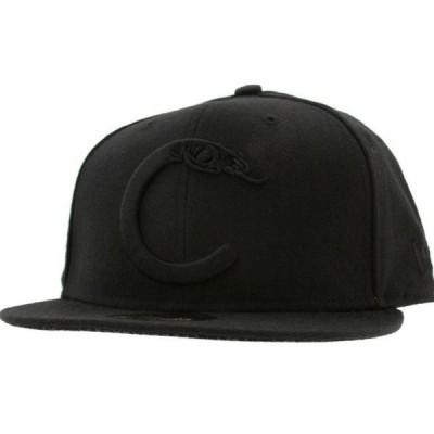 ユニセックス 衣類 アパレル Crooks and Castles C Snake Logo New Era Fitted Cap (black)