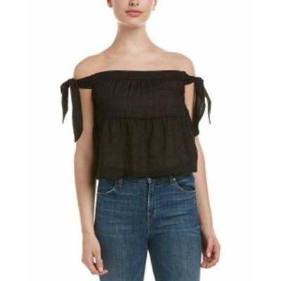 BCBGMAXAZRIA BCBG マックスアズリア ファッション 衣類 Bcbgmaxazria Off-The-Shoulder Top S Black