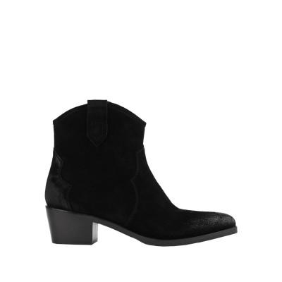 ブルーノ プレミ BRUNO PREMI ショートブーツ ブラック 36 牛革 100% ショートブーツ