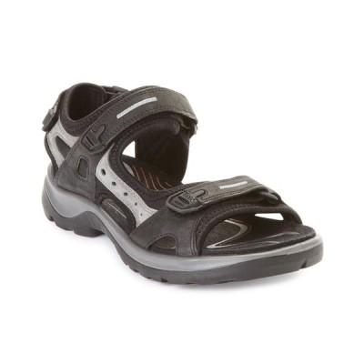 エコー サンダル シューズ レディース Women's Yucatan Sandals Black/Mole