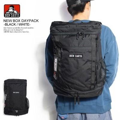 BEN DAVIS ベンデイビス NEW BOX DAYPACK -BLACK/WHITE- メンズ パックパック リュック ストリート bendavis ベンデービス atfbag