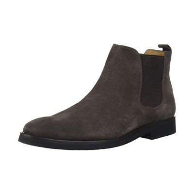 Driver Club USA Men's Geuine Leather Boot with Lug Sole Ankle, Brown Suede, 9 M US【並行輸入品】