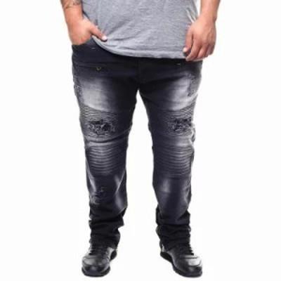 バイヤーズピック ジーンズ・デニム zip bottom motto jeans (b&t) Black