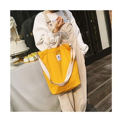 JIANGNIUS Bags Casual Solid Color Canvas Shoulder Diagonal Bag Large Capaci