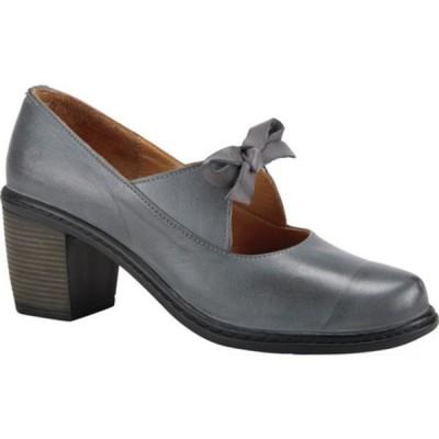 スプリングステップ サンダル シューズ レディース Welch Mary Jane (Women's) Grey Leather