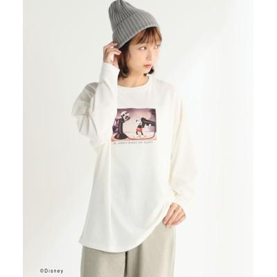 (Honeys/ハニーズ)Tシャツ(ミッキー)/レディース アイボリー