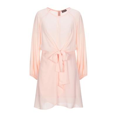 SOALLURE ミニワンピース&ドレス ピンク 42 ポリエステル 100% ミニワンピース&ドレス