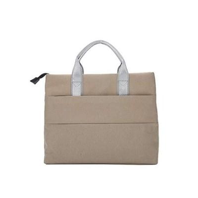 ZHAOTARPS Briefcase, Portable File Bag File Bag Portable Briefcase Ms. Male Business Office Information Kits (Color : Beige)【並行輸入