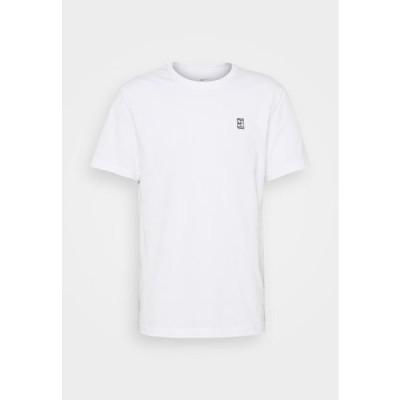 ナイキ メンズ スポーツ用品 COURT TEE - Basic T-shirt - white