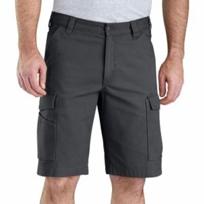 カーハート Carhartt メンズ ショートパンツ カーゴ ボトムス・パンツ Rugged Flex Rigby Cargo Shorts Shadow