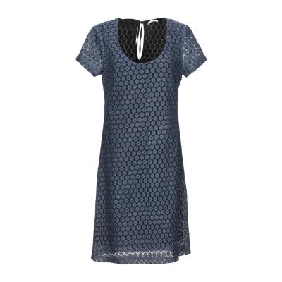 GAS ミニワンピース&ドレス ブルーグレー XS コットン 70% / ナイロン 30% ミニワンピース&ドレス