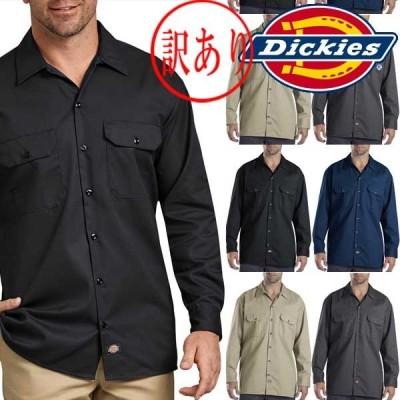 ワケアリDICKIESディッキーズ 正規品メンズLong Sleeve original fit作業服574 長袖 ワークシャツ