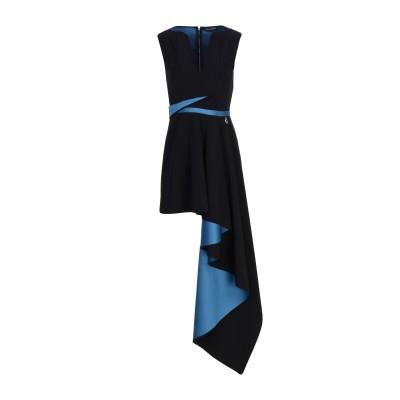 MANGANO ミニワンピース&ドレス ブラック 44 ポリエステル 94% / ポリウレタン 6% / ナイロン ミニワンピース&ドレス