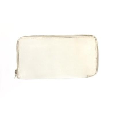 HERMES エルメス 財布 長財布 シルクイン アザップロング H063213CKAB エプソンレザー ラウンドファスナー ホワイト×ピンク