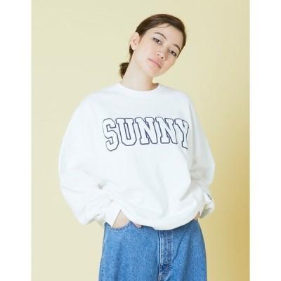 スウェット Sunny sweat top