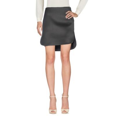 ブルネロ クチネリ BRUNELLO CUCINELLI ひざ丈スカート 鉛色 40 バージンウール 56% / ポリウレタン 43% / ポリウレ