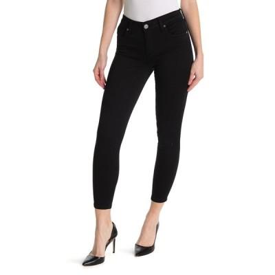 スワットフェイム レディース デニムパンツ ボトムス Dakota Black Ankle Skinny Jeans BLACK
