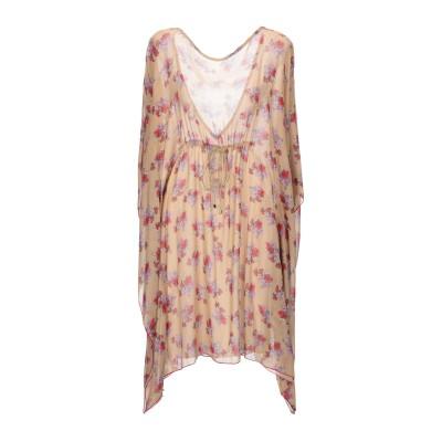 メルシー ..,MERCI ミニワンピース&ドレス キャメル 40 ポリエステル 100% ミニワンピース&ドレス