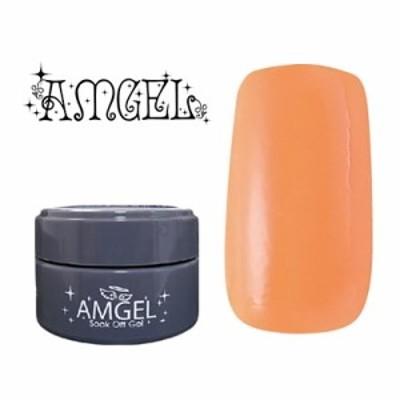 ジェルネイル セルフ カラージェル アンジェル AMGEL カラージェル AG1023 みかん 3g