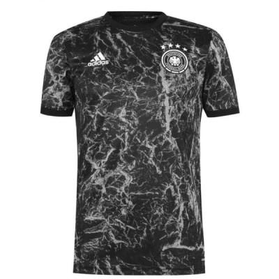 アディダス adidas メンズ トップス Germany Pre Match Shirt 2020 Black/Grey