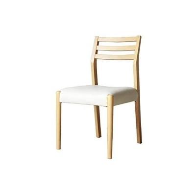 ソニック ダイニングチェア 椅子 (ナチュラルNA2脚セット)