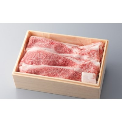 【A-306】宝牧場 近江牛赤身バラすき焼き用 [高島屋選定品]