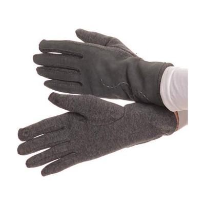Sakkas Lidyレザー刺繍快適な暖かい雪タッチスクリーン指手袋 US サイズ: S カラー: グレー【並行輸入品】