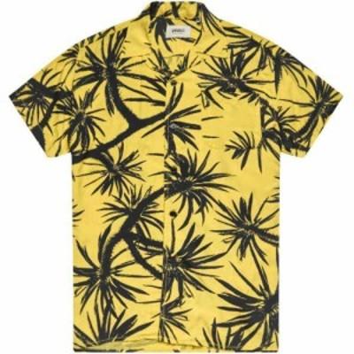 デウス エクス マキナ Deus Ex Machina メンズ 半袖シャツ トップス dean centennial short sleeve shirt Super Lemon