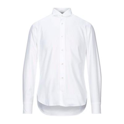 ダノリス DANOLIS シャツ ホワイト 38 コットン 100% シャツ