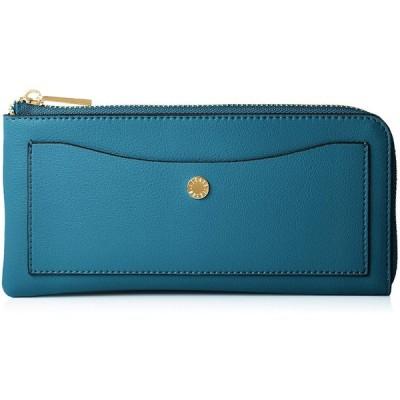 [レガートラルゴ] LJ-P0112 軽量ボンディングフェイクレザー長財布 うすいさいふ 重さ130グラム カード収納12枚 ポケット3枚 ターコイズ